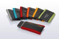 *iPhone Hülle 1.0 aus Filz mit Fahrradschlauch* *erhältlich für:* iphone 3 iphone 4 ipod touch *in den Farben:* orange gelb rot hellgrü