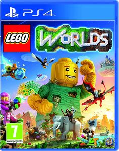 LEGO Worlds Playstation 4 is a new sandbox game that allows players to build constructions in a 3D world.