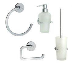 A complete range of bathroom accessories and fixtures to house all your bathroom items including soap dispensers, toilet brush holders, tumblers and light pulls alongside complete bathroom accessory packs. Timeless Bathroom, Complete Bathrooms, Light Pull, Soap Dispensers, Toilet Brush, Bathroom Accessories, Bathroom Hooks, Roman, Chrome