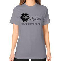 Lemon of Love Unisex T-Shirt (on woman)