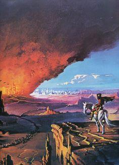 "Bruce Pennington, for M. John Harrison's ""The Pastel City""."