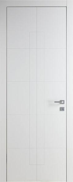 Модель TR01 Bianco   Межкомнатные двери со склада   Коллекция Trend   Продажа межкомнатных дверей шпон   Итальянские современные двери Union