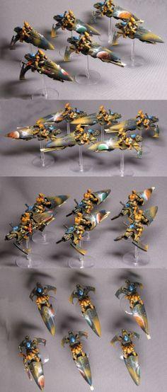 Eldar jetbike squad