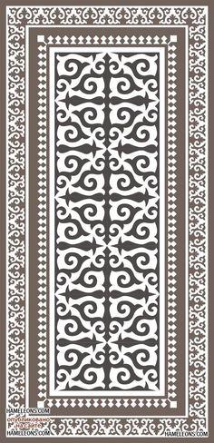 Казахский орнамент в народном творчестве