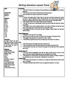 Lesson Plans on Summary Writing Skills