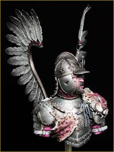 polish flying hussars   Polish Hussar Statue Polish winged hussar resin Polish Tattoos, Medieval Pattern, Medieval Armor, Military History, Middle Ages, Sleeve Tattoos, Celtic, Book Art, Knight