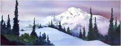 Mount Rainier from Chinook Pass by John Ebner #Rainier