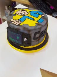 Image Result For Fallout Cake With Images Candy Buffet Birthday
