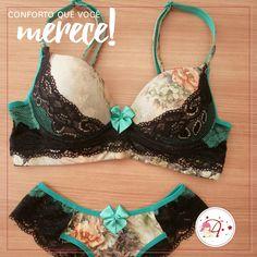 aff827660 Conforto e qualidade são pontos imprescindíveis na hora de escolher a sua  lingerie
