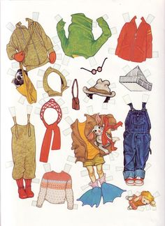 종이인형 (cutting up with ramona) : 네이버 블로그 Henry Huggins, Paper Toys, Paper Crafts, Ephemeral Art, Art Rules, Storybook Characters, Paper Dolls Printable, Vintage Paper Dolls, Retro Toys
