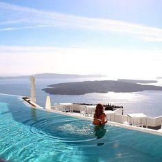 Santorini, Greece ✨ Photo by: @PilotMadeleine