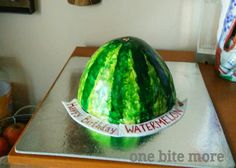Watermelon or cake? Take a guess