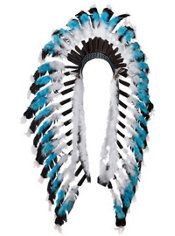 Native American Feather Headdress Deluxe 35.00