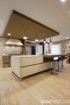 Kitchen design gets a modern update