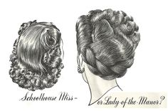 http://hair-and-makeup-artist.com/wordpress/wp-content/uploads/2012/01/1947-hair-2.jpg -- love the one on the right, but HOW?