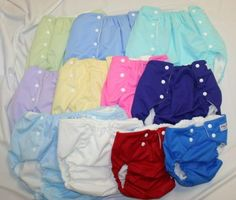 Snap-EZ Products: Youth/Adult cloth diapers and training pants in sizes birth through XL Adult. (More comfortable than pull-ups for youth with sensory issues.)