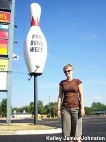 Giant Bowling Pin!    Fort Wayne Indiana