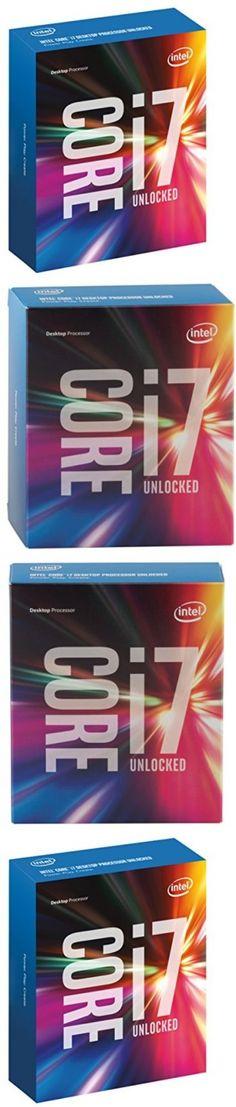 computer parts: Intel Core I7 Unlocked Quad Core Processor 6700K 4 Ghz Skylake Desktop Lga 1151 -> BUY IT NOW ONLY: $423.02 on eBay!