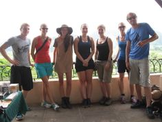 Students on one of the Study & Travel trips on the Island. Mirador de los Jazmines en Viñales. #studyAbroad #Cuba  http://www.sampere.com/learn-spanish/travelling-course.html