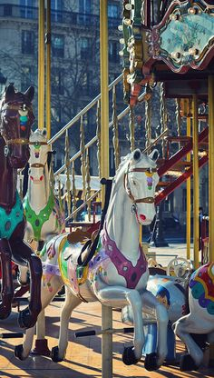 Merry-go-round at Hôtel de Ville ~ Paris