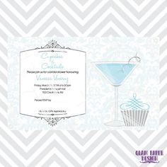 cupcakes and cocktails bridal shower invitations get yours now for 795