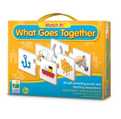 AmazonSmile: The Learning Journey Match It! What Goes Together: Toys & Games