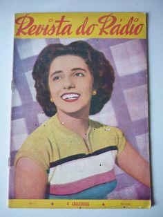 Revista Do Radio 1955 Dóris Monteiro Cauby Herivelto Martins - R$ 29,00 no MercadoLivre