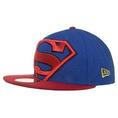 Boné 59Fifty Super Homem Azul/Vermelho – New Era - http://batecabeca.com.br/bone-59fifty-super-homem-azulvermelho-new-era.html