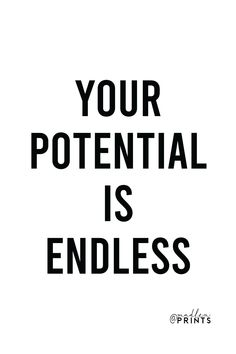 Your Potential Is Endless print is a high quality instantly downloadable printable wall art. Decor your home, nursery or office in an affordable way! Print it and frame it - it's really that easy! #nordicdecor #etsy #walldecoration #quote Printable Quotes, Printable Wall Art, Room Posters, Motivational Posters, Frame It, Quote Prints, Woman Quotes, Art Decor, Nursery
