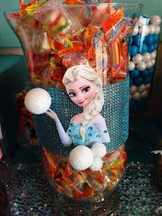 Disney Frozen Birthday Party Ideas   Photo 12 of 27   Catch My Party