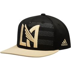 free shipping 86d24 d9f78 Men s LAFC adidas Black Authentic Team Snapback Adjustable Hat,  25.99