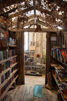 Love this book store. Wild Rumpus Books (by Snap Man)