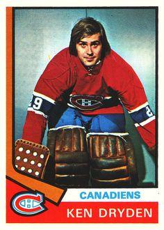 hk19745_OPeeChee__155 Hockey Goalie, Hockey Teams, Ice Hockey, Montreal Canadiens, Ken Dryden, Hockey Hall Of Fame, Goalie Mask, Vancouver Canucks, Sports Figures