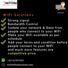 Solve your Wifi Problems with us