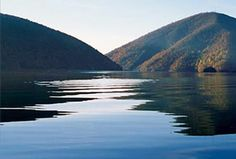 Smith Mountain Lake- a favorite place of mine.  http://www.warrentonmasters.org/wp-content/uploads/2010/08/smith-mountain-lake-swim.jpg