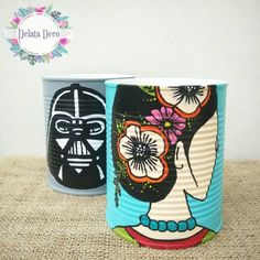 Arts And Crafts Supplies Info: 6360062312 Tin Can Crafts, Rock Crafts, Crafts To Do, Crafts For Kids, Diy Crafts, Flower Pot Art, Flower Pots, Milk Carton Crafts, Pot Plante