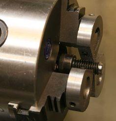 Screw Shortening Chuck by Frank Ford -- Homemade screw shortening chuck fabricated from steel rod. http://www.homemadetools.net/homemade-screw-shortening-chuck