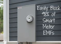 Got a smart meter and you can't get rid of it? This inexpensive new device has been shown to block 98% of the concentrated EMFs known to aggravate existing health problems. http://www.thehealthyhomeeconomist.com/simple-device-blocks-most-smart-meter-emf-radiation/