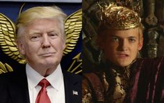 George RR Martin compares Trump to King Joffrey from 'Game Of Thrones'Read More ➤ http://back.ly/4wzWc