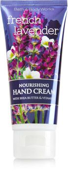French Lavender Nourishing Hand Cream - Soap/Sanitizer - Bath & Body Works