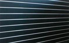 Panel de lamas Negro