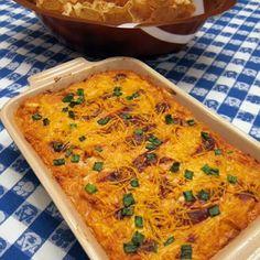 BBQ Chicken Dip #Recipe #Food #Dinner