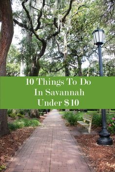 10 Things To Do In Savannah, Georgia Under $10 – Fine Dining on Discourse