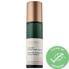 Shop Biossance's Squalane + Micronutrient Fine Mist at Sephora. This ultra-fine facial mist replenishes skin with minerals and hydrates with squalene. Sephora, Green Algae, Face Mist, Oily Skin Care, Cleansing Oil, Makeup Brands, Mists, Moisturizer, Alcohol