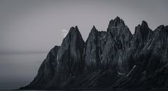 The Devils Teeth Senja Norway landscape Nature Photos Earth Photos, Nature Photos, Tromso, Above The Clouds, Lofoten, Science And Nature, Norway, Devil, Teeth