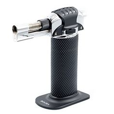 Be your own professional chef with the BOCHA Cooking Torch! Whether your inside or outside, the portable BOCHA Torch will be by your side when you need it. It's the perfect tool for cooking, camping, welding, lighting and much more. Uses • Caramelize sugar • Brown meringues • Roast... - http://kitchen-dining.bestselleroutlet.net/product-review-for-bocha-portable-culinary-creme-brulee-butane-gas-cooking-torch-lighter/
