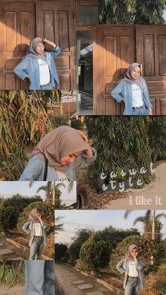 Modern Hijab Fashion, Street Hijab Fashion, Hijab Fashion Inspiration, Muslim Fashion, Modest Fashion, Casual Hijab Outfit, Ootd Hijab, Hijab Chic, Ootd Poses