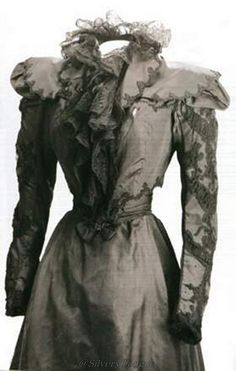 The blouse Sissi wore the day in 1898 she was assassinated by an anarchist in Geneva.