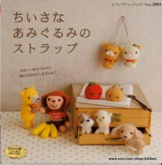 Amigurumi Petit Japanese eBook Pattern AMI22 Instant by Bielleni, €2.00