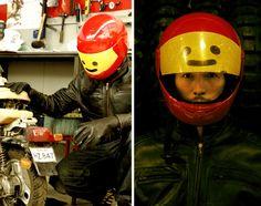 Lego Motorcycle Helmet - cool!